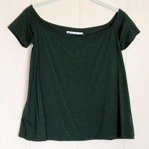 Fighting🤼 Eel Top Love❤ in Perfect Green Sz S